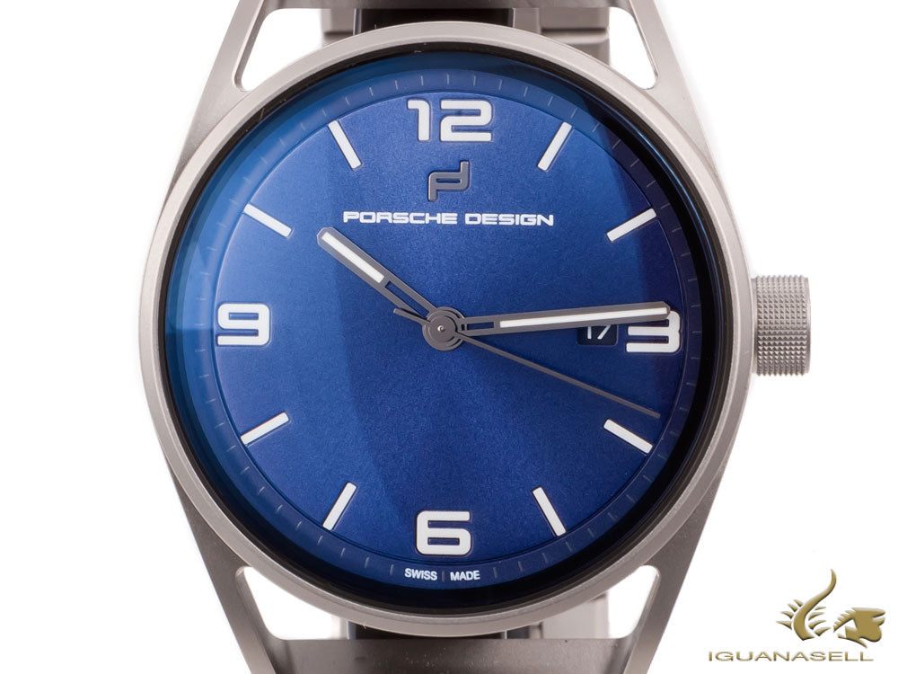 Porsche Design 1919 Datetimer Eternity Automatic Watch, Blue, 6020.3.01.005.01.2