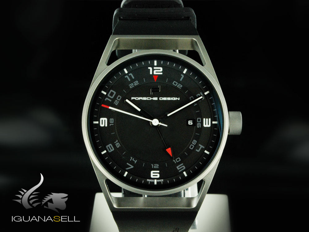 Porsche Design 1919 Globetimer Automatic Watch, GMT, Titanium & Rubber