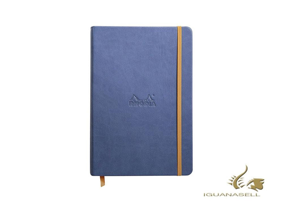 Rhodia Color Notebook, A5, Hard cover, Plain, Blue, 192 pages, 118728C