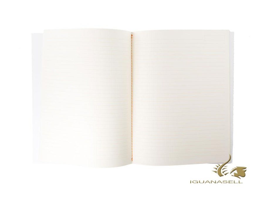 Rhodia Heritage Tartan Notebook, A5, Soft cover, Ruled, White, 64 pages, 117233C