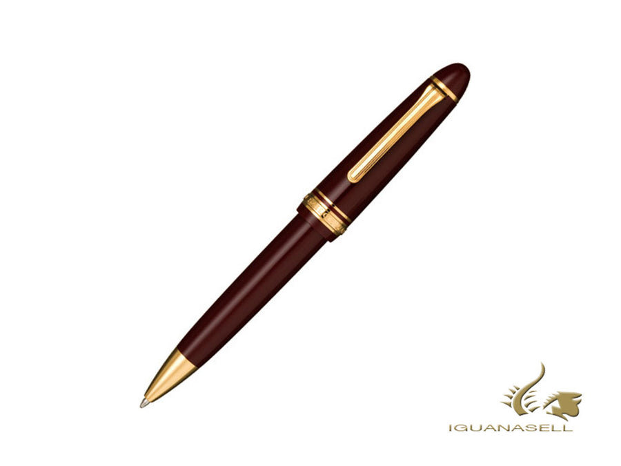 Sailor 1911 Large Series Ballpoint pen, Maroon, Gold Trim, 16-1009-632