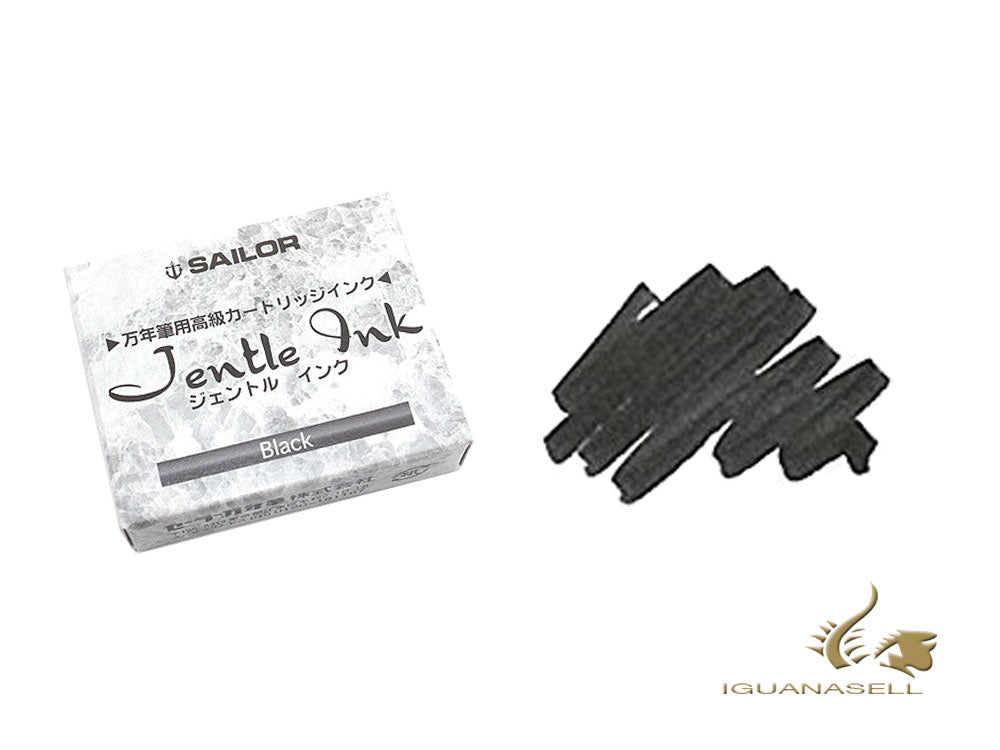 Sailor Jentle Black Ink, 12 units, 13-0402-120