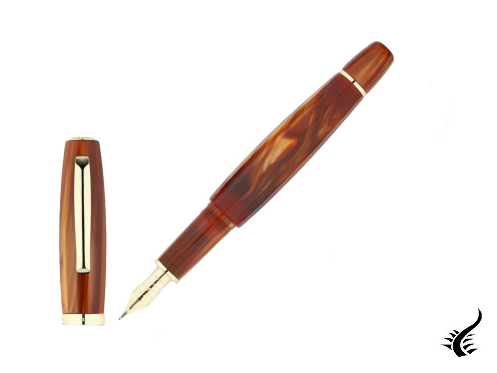 "Scribo Feel ""Zucca"" Fountain Pen, Limited Edition, FEEFP13LG1403"