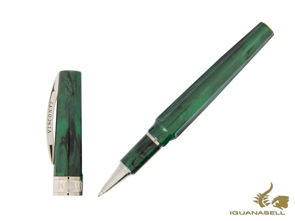 Visconti Mirage Emerald Rollerball pen, Injected resin, KP09-05-RB