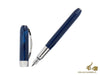 Visconti Rembrandt Fountain Pen, Resin, Palladium trim, Blue, 48289A10P