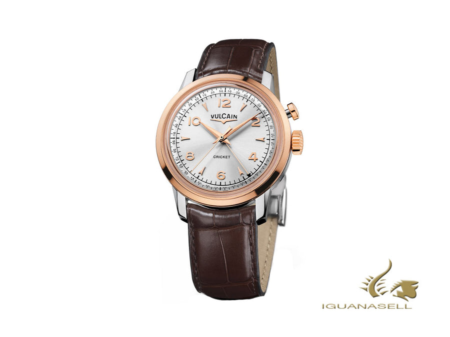 Vulcain 50s Presidents Heritage Manual Watch, V-10, Limited Ed., 100653.290L