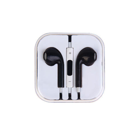 iPhone 5 Style Headphones for iPhone iPad iPod Tablet Laptop Black