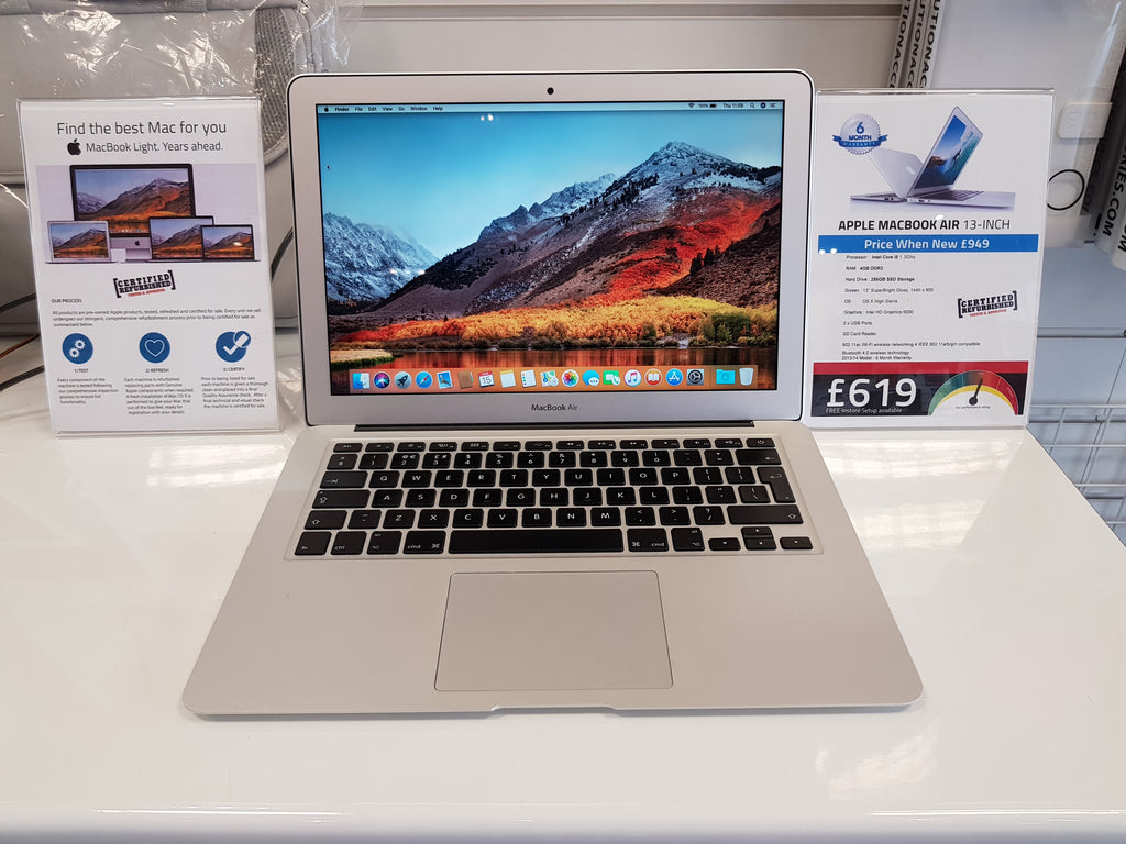 new macbook air 13 inch
