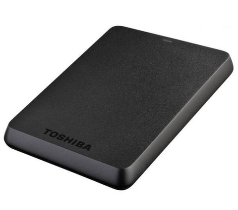 "Toshiba 750GB Stor.E Basics 2.5"" - Black"