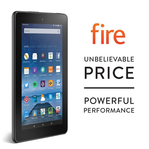 "Fire, 7"" Display, Wi-Fi, 8 GB Tablet"