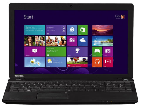 Toshiba Satellite C50D-A-133 15.6-inch Notebook (AMD E1-2100 1.0GHz, 4GB RAM, 500GB HDD, Windows 8.1)