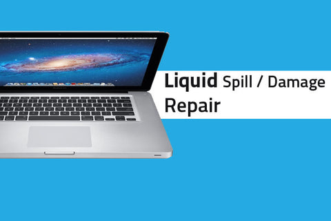 Macbook Pro 15 inch (aluminum) Liquid Damage