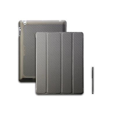 Cooler Master Wake Up Folio Carbon Texture Edition with Magnetic Stylus for iPad 2/ 3/ 4 Golden Bronze