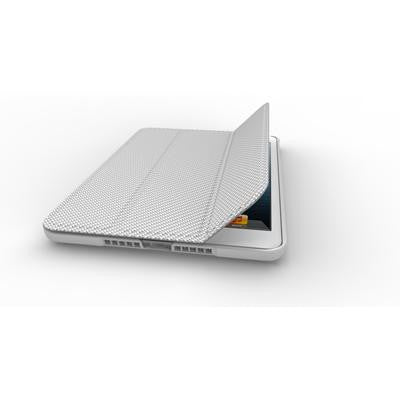 Cooler Master Mobile Wake Up Folio Carbon Texture Edition for iPad Mini Silver White