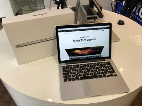 Apple Macbook Pro 13-inch: Retina 2.6GHz 2015 with 128GB SSD