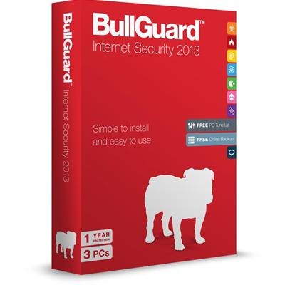 BULLGUARD INTERNET SECURITY V13 RETAIL BOXED SINGLE LICENCE FOR 3 PCs