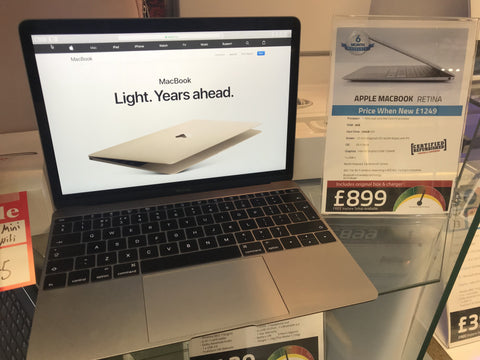 Apple Macbook Retina 12-inch 8GB 256GB 2015