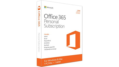Microsoft Office 365 Personal (1 year)