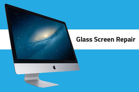 iMac Aluminum Glass Repair