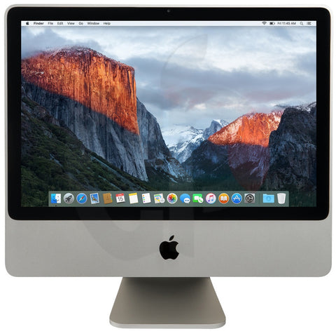 "Apple 20"" iMac, Core 2 Duo 2.66GHz, 4GB, 320GB, Superdrive, El Capitan"