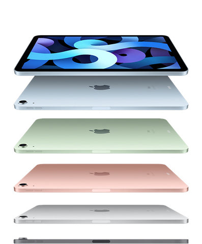 New 2020/21 Apple iPad Air 4 10.9 Wifi + Cellular Silver/Space Grey/Rose Gold/Green/Sky Blue