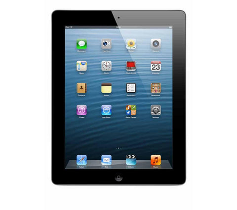 Apple iPad with Retina, 16GB, Wi-Fi, Black or White