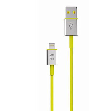 Candywirez® iPhone 5' VRS 3 Lightning to USB Sync/Charge Cable, Yellow