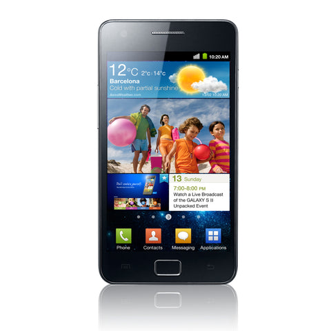 Samsung I9100 Galaxy S2 Complete Screen Replacement - Black