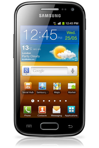 Samsung i8160 Galaxy Ace 2 Glass Replacement - Black
