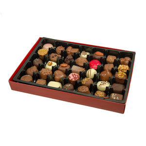 Luxury box of assorted chocolates