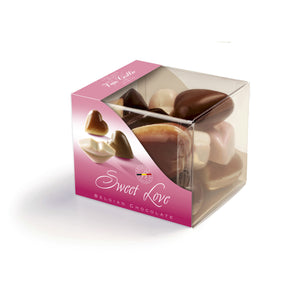 Cube Sweet Love - Belgian chocolate by Pralineur Van Coillie