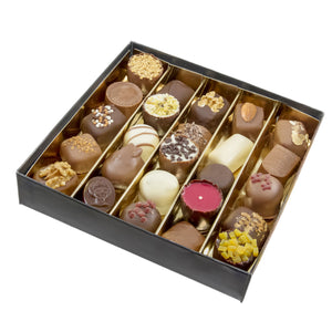 Luxe box of assorted chocolates - Belgian chocolate by Pralineur Van Coillie