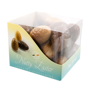 Cube Nutty Easter - Belgian chocolate by Pralineur Van Coillie