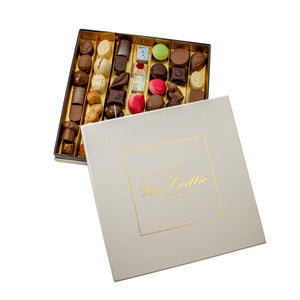 Big Luxe box of assorted chocolates - Belgian chocolate by Pralineur Van Coillie