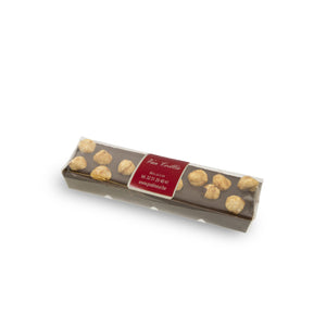 Chocolate bar hazelnuts - Belgian chocolate by Pralineur Van Coillie