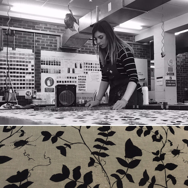 Talking Surface Pattern Print with Amy Harris - Design Graduate 2017