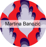 Martina Banozic Fabric and Wallpapers on Surface Pattern Print