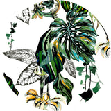 Tropical Design from Merve Aruta for Surface Pattern Print