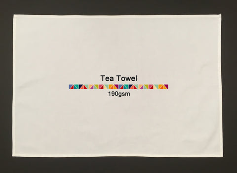 Custom Printed and Sewn Tea Towel