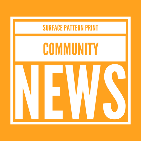 Read our first ever issue of the surface pattern print community news