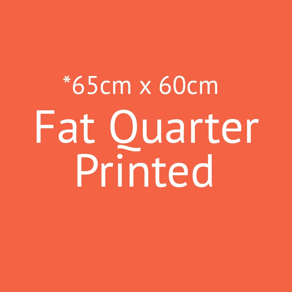 Printed Fat Quarters 65x60cm, Additional Extras, Custom Print - SurfacePatternPrint