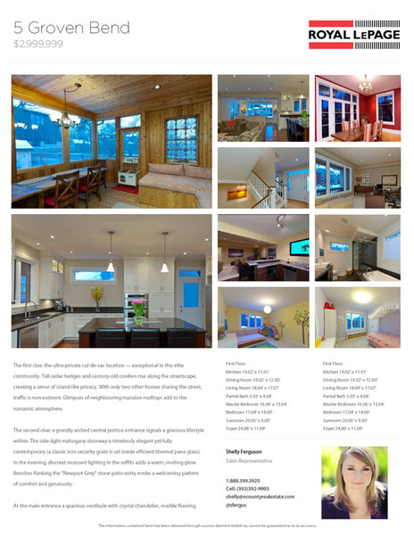 Real Estate Flyer Templates and Feature Sheets | Snap Flyers