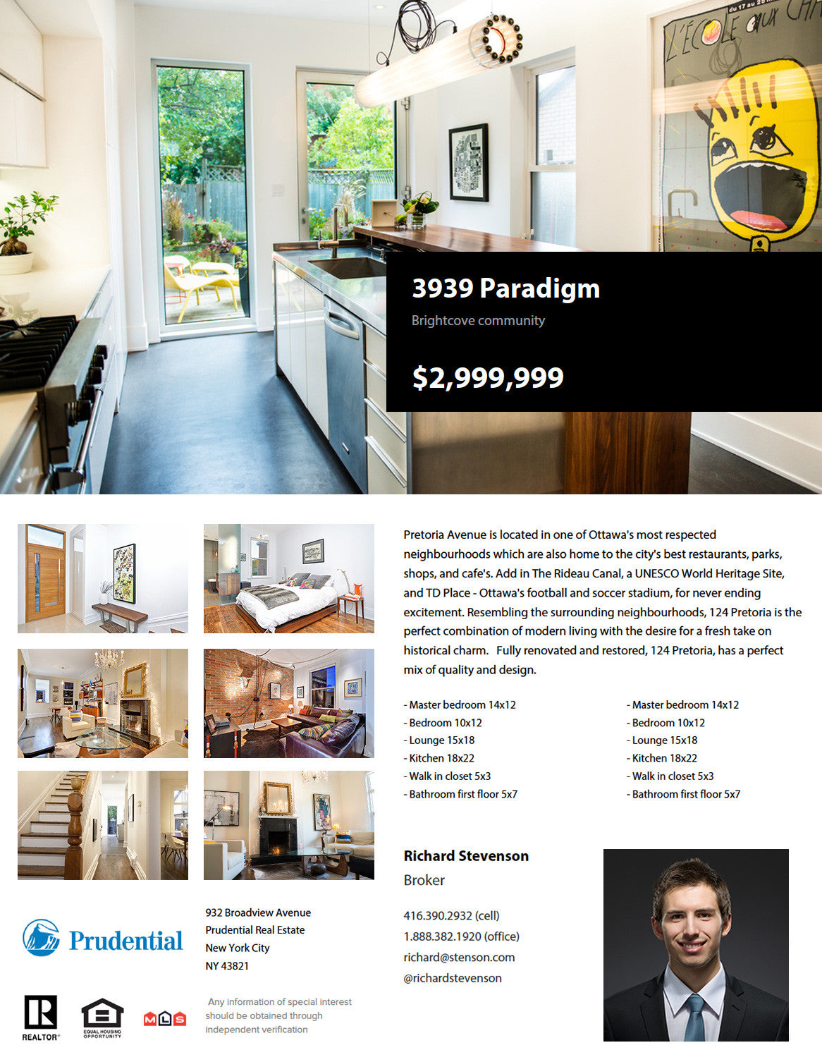 Paradigm   RESAAS Bundle  Home For Sale Brochure