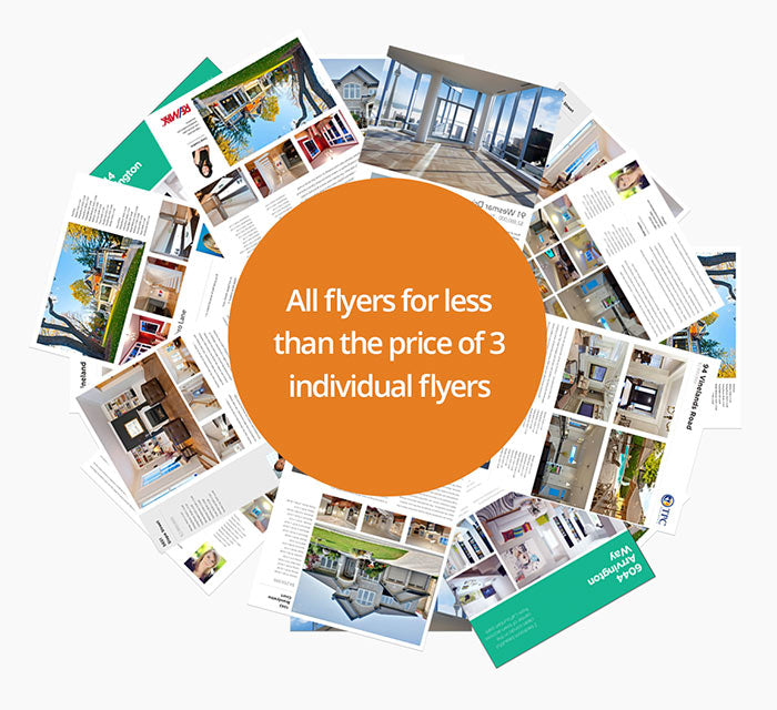 All real estate flyers