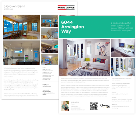 Real Estate Flyer Templates And Feature Sheets Snap Flyers