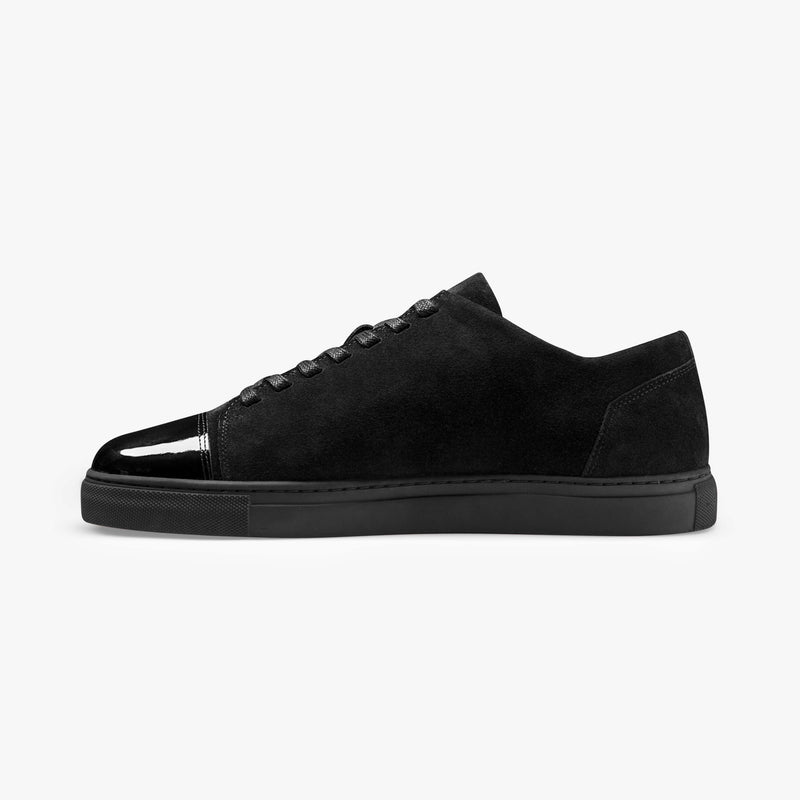Dressed - Men's Sneaker All Black Suede Leather