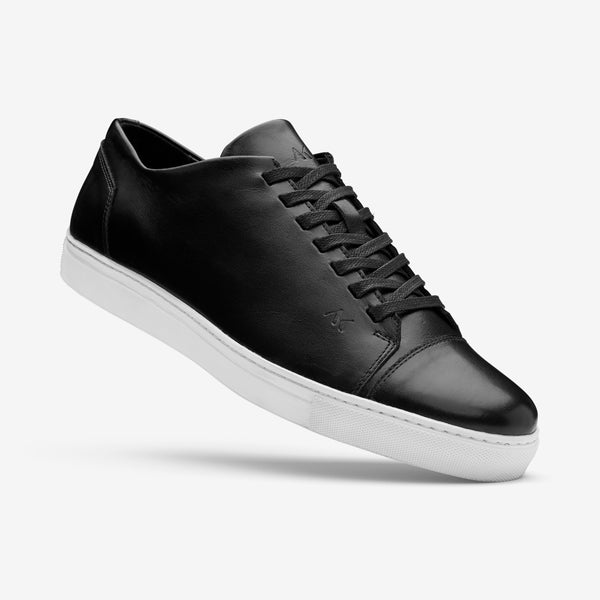 Fresh - Men's Sneaker Black Leather