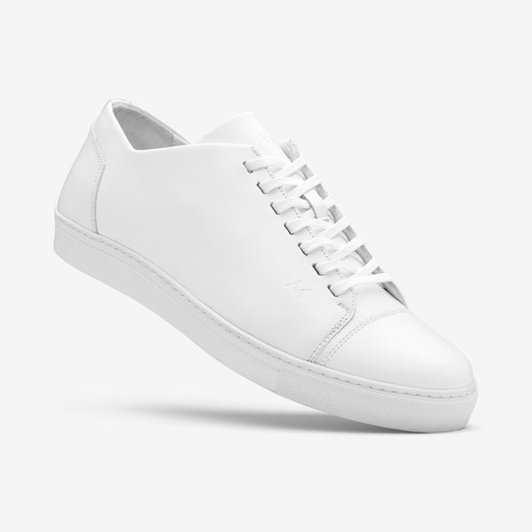 Fresh - Men's Sneaker White Leather