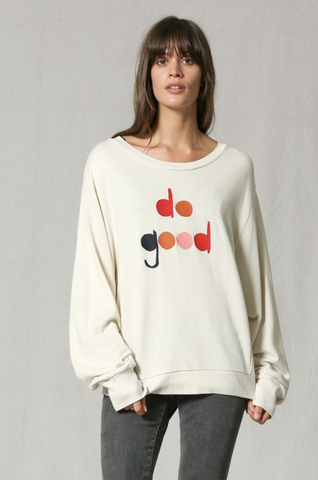 CLAY DO GOOD CREW NECK PULLOVER