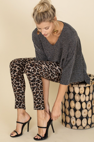 Born To Be Wild Leopard Leggings - Final Sale